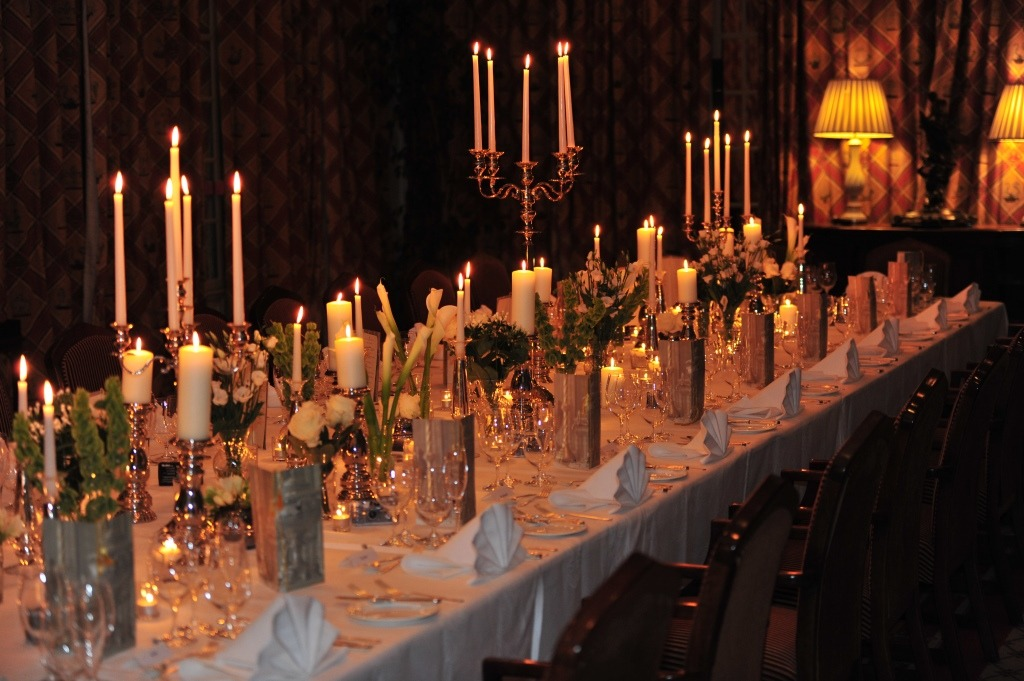 Centrepieces & Candle Sticks