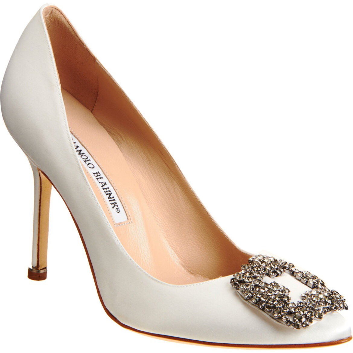 Top five designer bridal shoes co ordination made easy for Who is manolo blahnik
