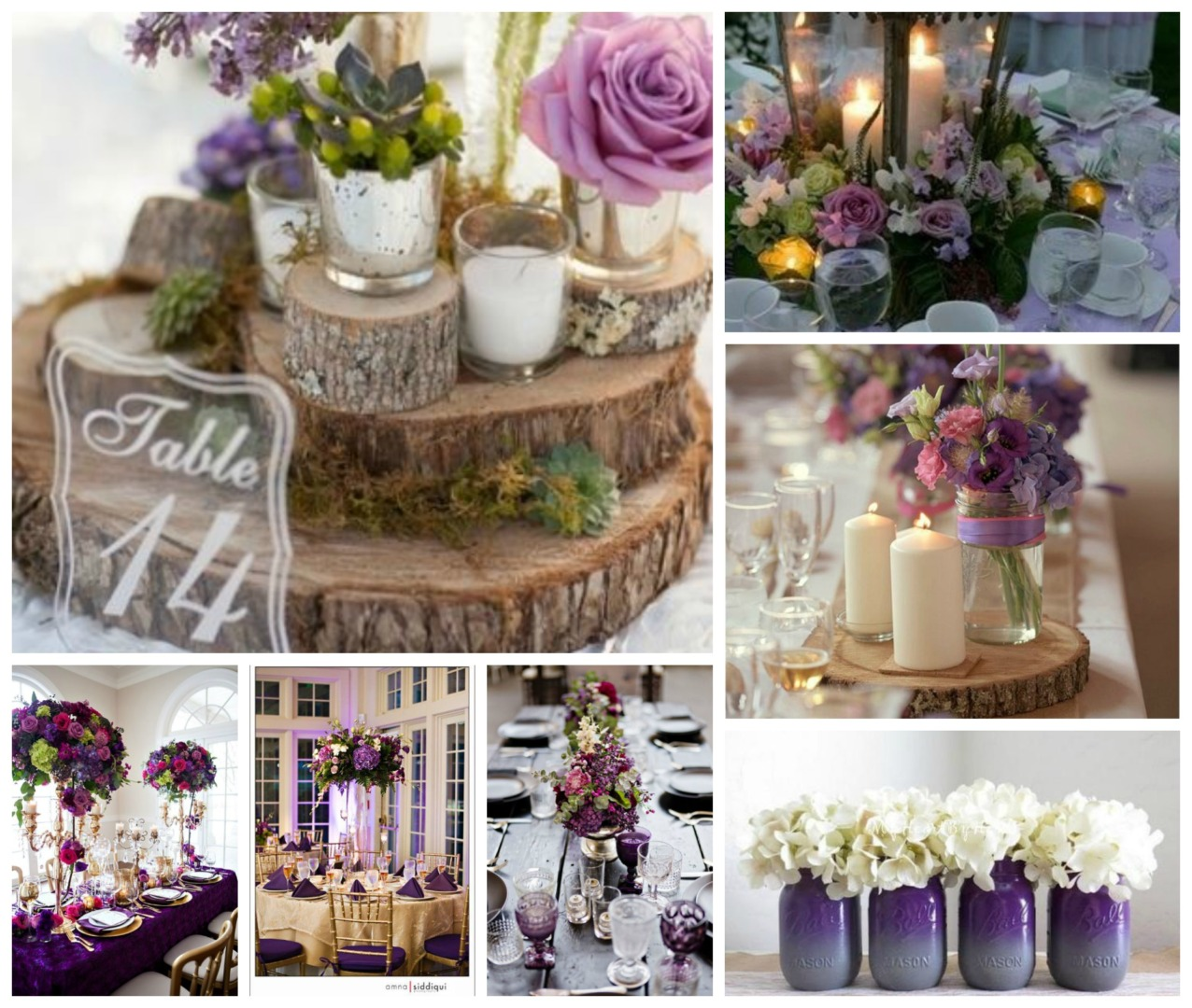 Plum And Sage Wedding Theme