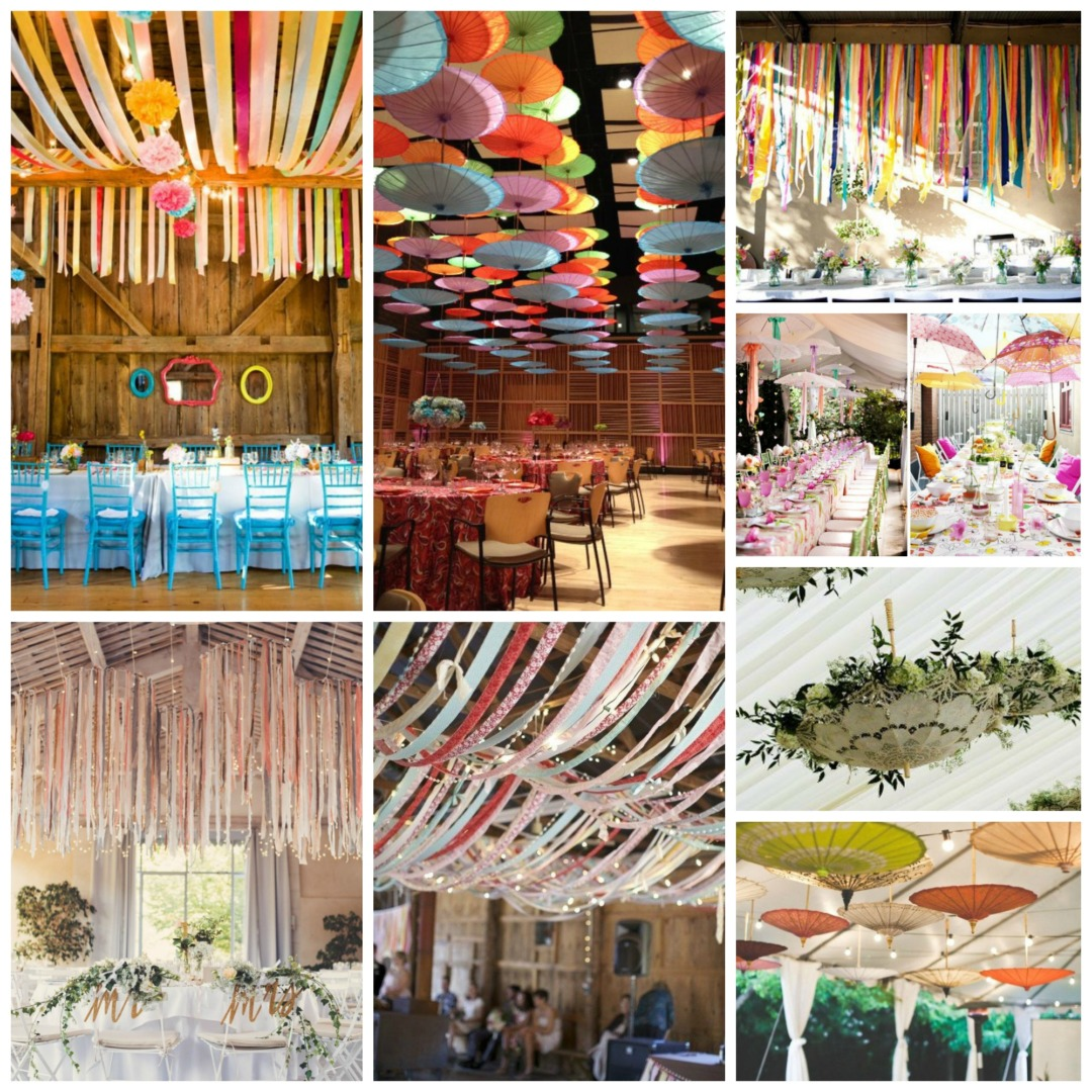 parasols and streamers