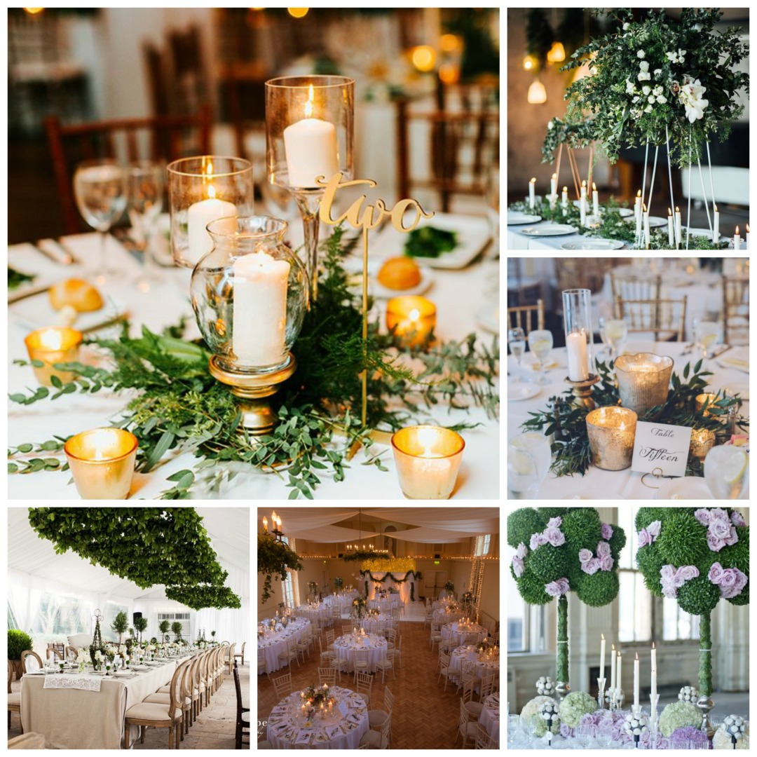 Green Wedding Ideas: White And Green Wedding Theme