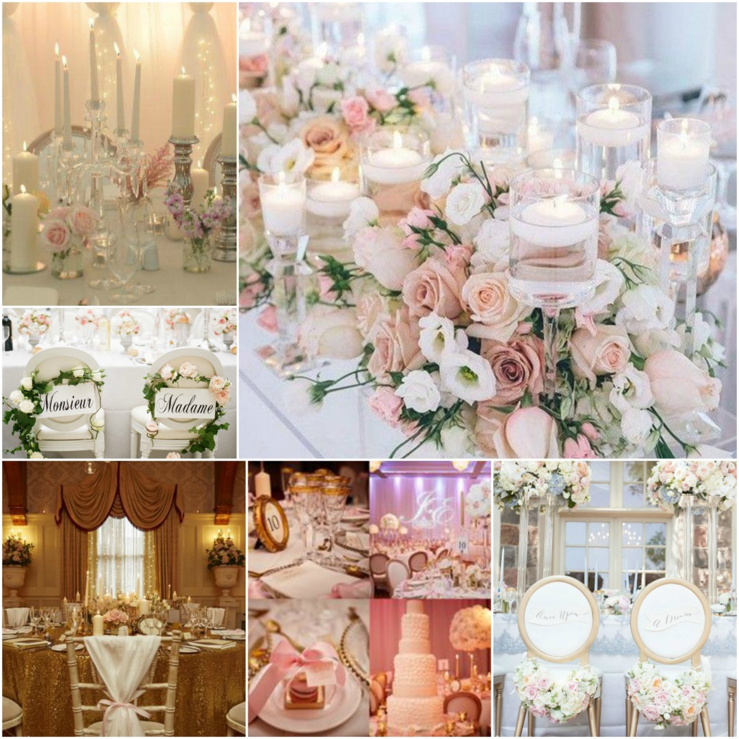 Easy Wedding Themes: French Romance Wedding Theme