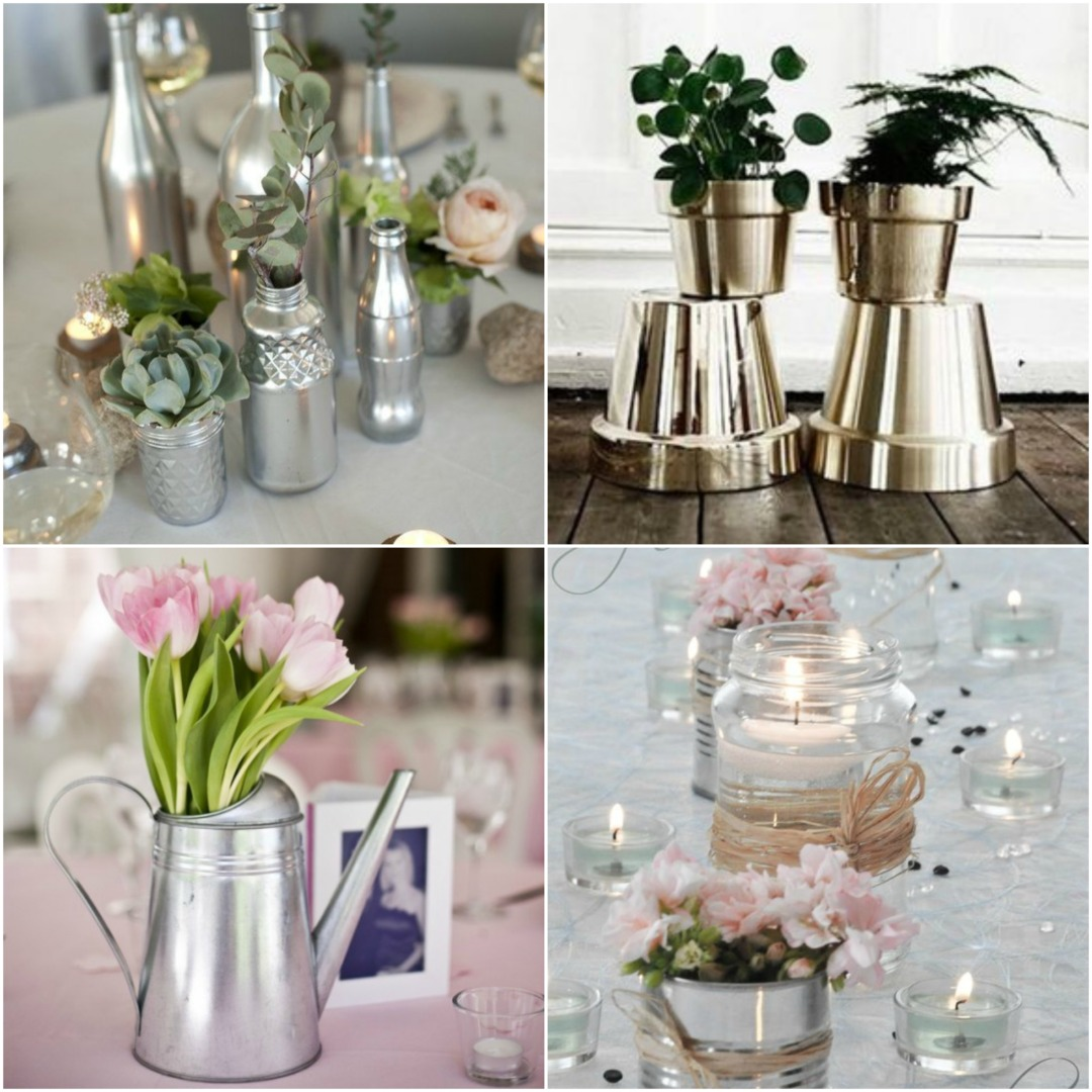 Silver And Chrome Wedding Theme Co Ordination Made Easy
