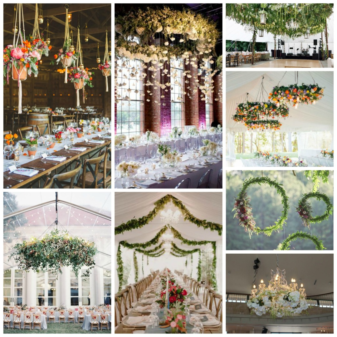 Go Vertical With Your Wedding Decor