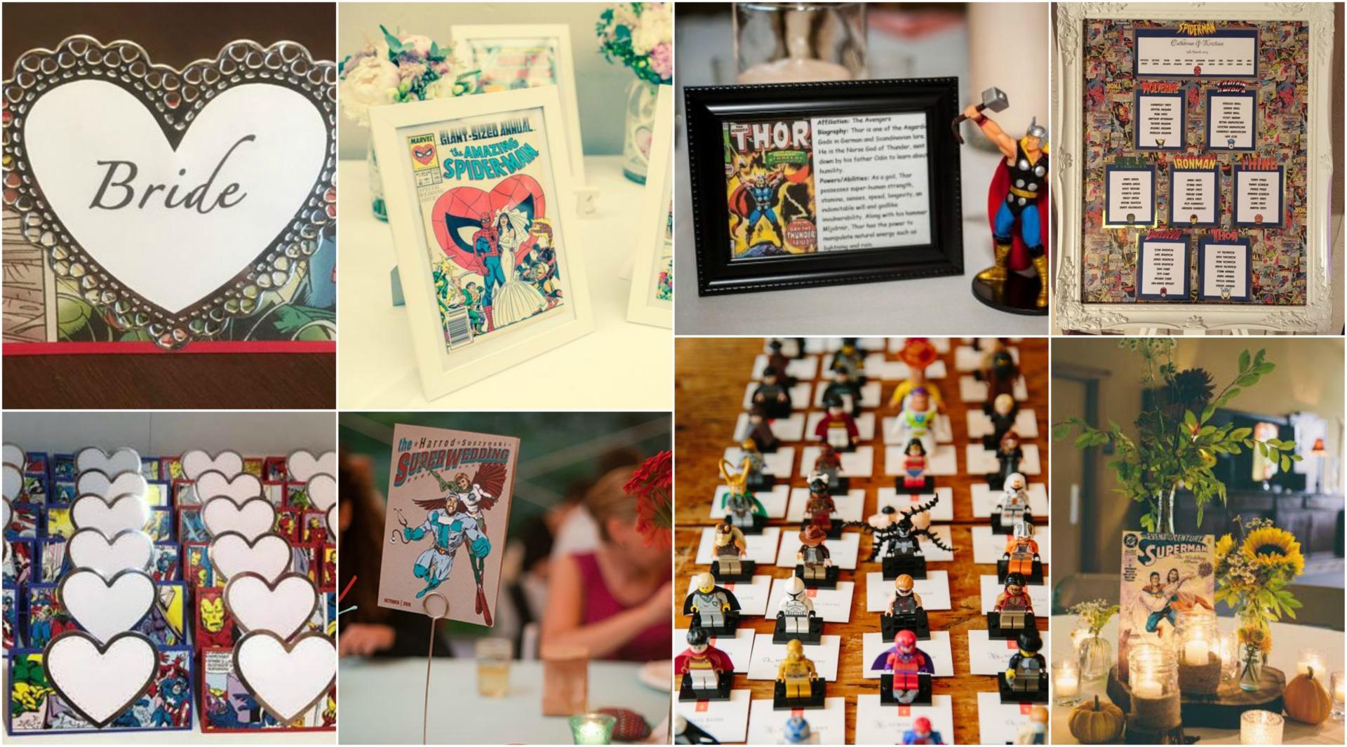 Superhero Wedding Book Superhero Wedding Spiderman Wedding Guest Book