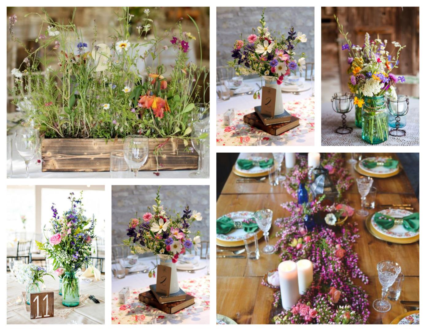 wildflower wedding theme - co-ordination made easy